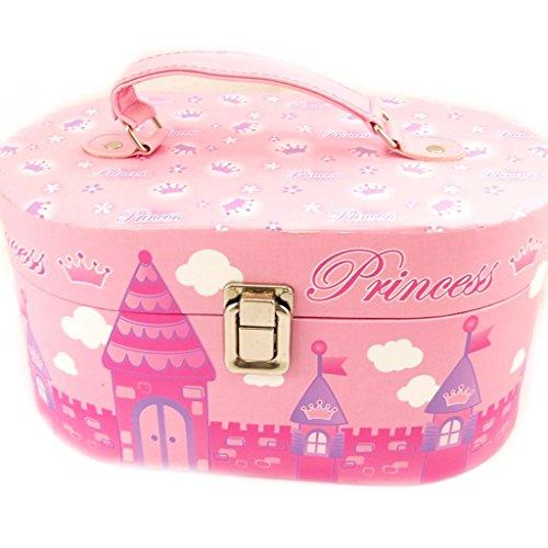 Vanity case box 'Little Princess' rose. -