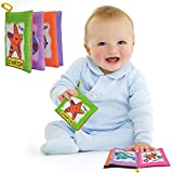 KIDSBELE Baby Kids Early Learning Educational Toys Animal Cotton Soft Cloth Book