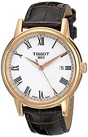 Tissot Men's T0854103601300 Analog Display Quartz Brown Watch