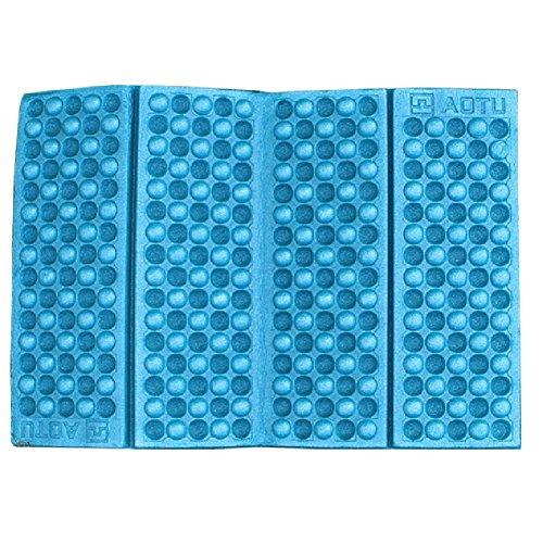 Eva Foam Stadium Seat Cushion (WinnerEco Portable Foldable EVA Foam Waterproof Garden Cushion Seat Pad Chair(Blue))