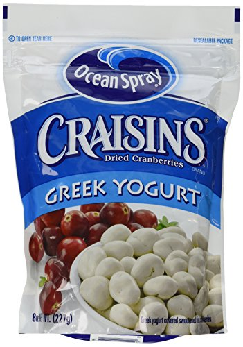 (Ocean Spray Craisins Dried Cranberries Greek Yogurt (Pack of 4))