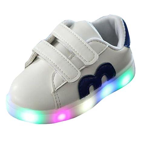 Zapatos de Bebé Niño Niña,Zapatillas de bebé Zapatos Ligeros Coloridos Ocasionales del Chica Chico