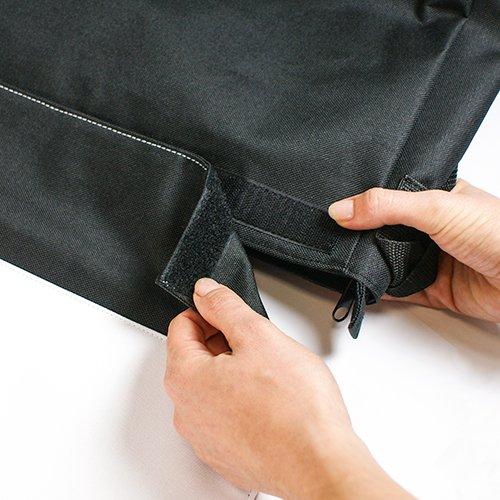 Schultertasche Messenger Bag Collegetasche Umhängetasche - Motiv: Englische Bulldogge Familie mit Vater Mutter und Kind - 06