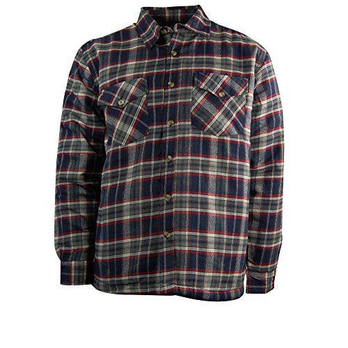 Quilted Flannel Work Shirt - 4