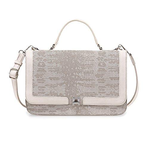 Tamaris VERA Damen Handtasche, Handbag M, Henkeltasche, 31x20x11 cm (B x H x T), 2 Farben: sand comb. oder rose comb. Beige