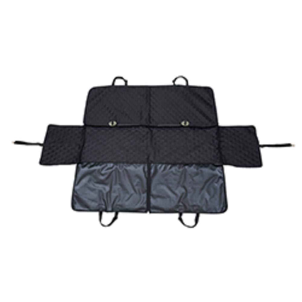A 12514035cm A 12514035cm Pet dog seat pad waterproof pad anti-skid car folding black pad-A-125  140  35cm