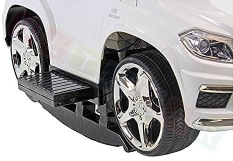 Ride On, de empuje, balancines Mercedes GL63 AMG BLANCO: Amazon.es ...