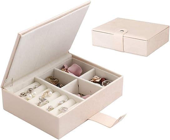 XD E-commerce Cajas para Joyas Cofres para Joyas Moderna joyería de la Caja Joyero de Gran Capacidad Creativo Almacenamiento de joyería y bisutería Nude Pink: Amazon.es: Hogar