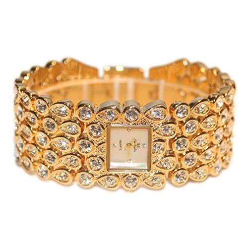bs-brand-women-luxury-full-diamonds-square-bracelet-watch-fa0281-gold