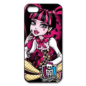 Cartoon Monster High Plastic Protective Case Slim Fit for iPhone 5 5S