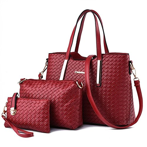 Ryse Womens Fashionable Classic Exquisite Metal Buckle Handbag Shoulder Bag Three - Marcjacobs Sale