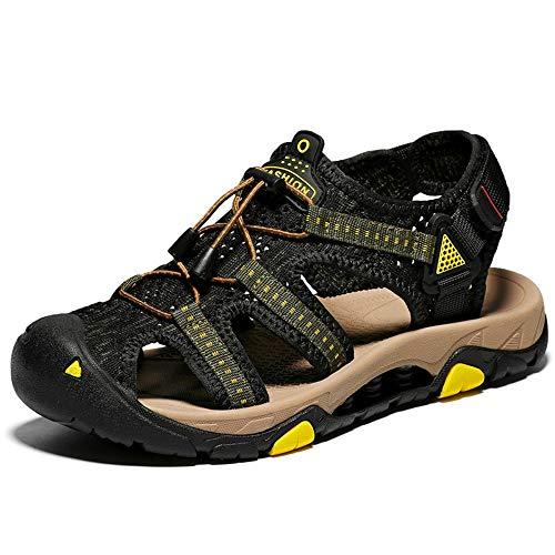Maille Noir Rouge Et Slip Plage Ltzb Sandales 44 Chaussures Anti Pour Antidérapantes De Hommes Pantoufles En Cuir EAx7nqwOBU