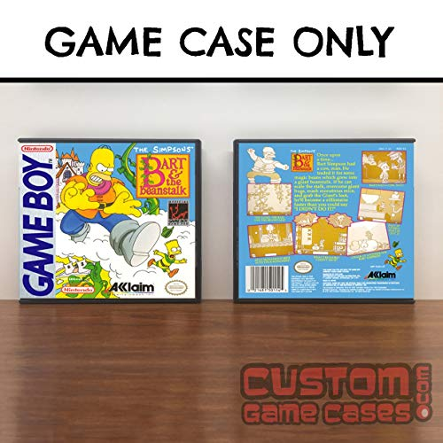 Beanstalk Game - Gameboy Simpsons: Bart and the Beanstalk, The - Game Case
