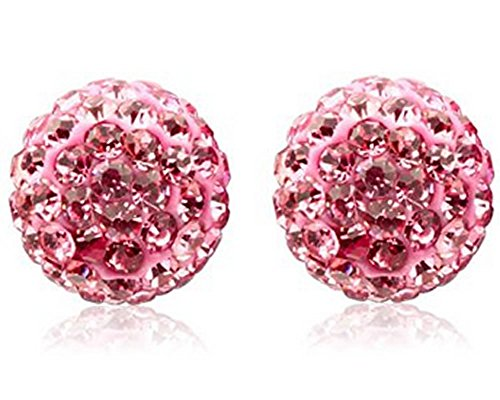Authentic Crystal Earrings Sterling Dia 8mm product image