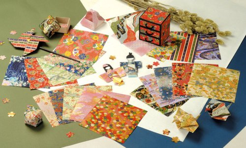 Showa Grimm Yuzen Chiyogami Origami Collection / tasteful 83-0751 (japan import) by Showa Grimm