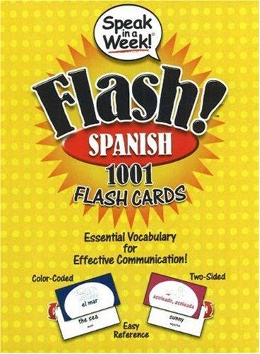 Speak in a Week! Flash! Spanish (Spanish Edition) -