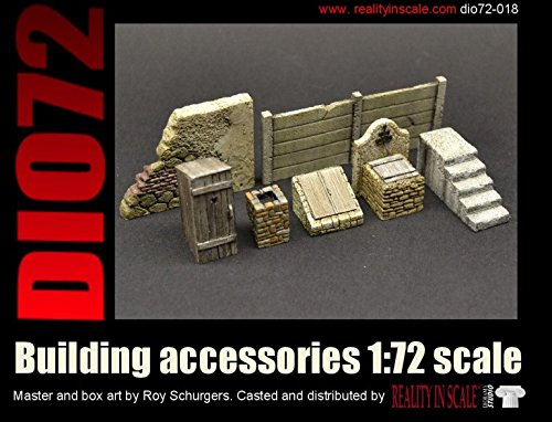 Reality In Scale 1:72 Building Accessories - Resin Diorama Details #72018