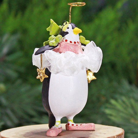 - Patience Brewster Mini Millicent Penguin Christmas Figural Ornament 08-30590