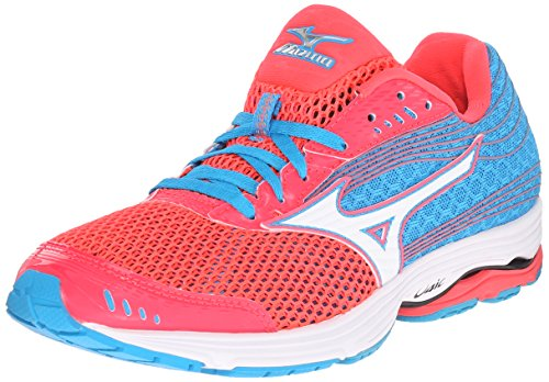 Mizuno Women's Wave Sayonara 3 Running Shoe, Pink/White, 8.5 B US ()
