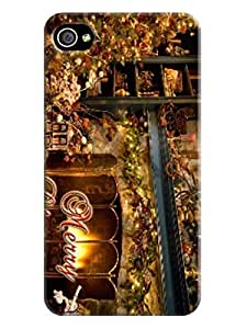 DIY Your Unique fashionable Merry Christmas TPU phone case and cover with cool Patterns For iphone 4/4s
