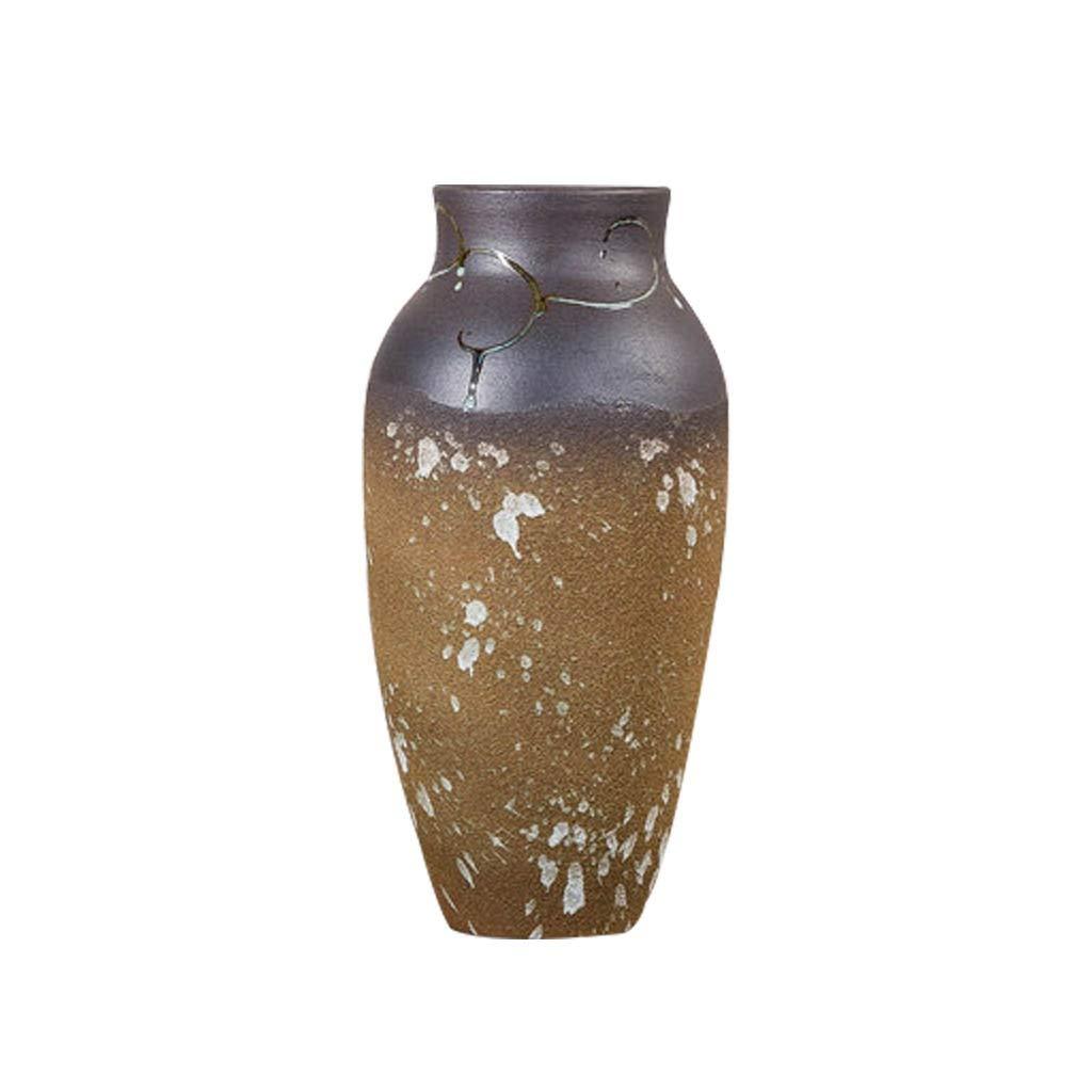 セラミック花瓶装飾ドライフラワーテーブルフラワーモダンホームリビングルームの装飾 LQX B07QYZSB65