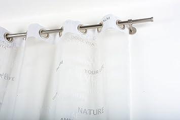 gardinenstange edelstahl 220 cm