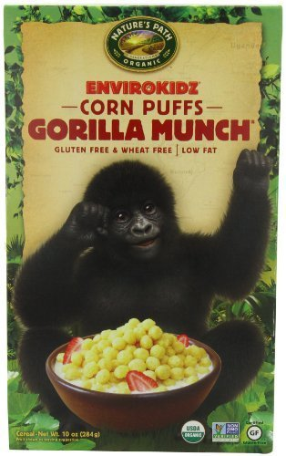 orilla Munch Cereal, 10-Ounce Boxes (Pack of 6) by EnviroKidz ()