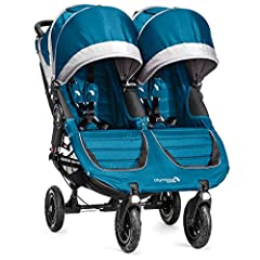 The City Mini GT double takes multi terrain strolling to the next level with all terrain capacities and deluxe standard features in a chic compact package. Its easy to use side by side design and all terrain tires make it perfect for both eve...