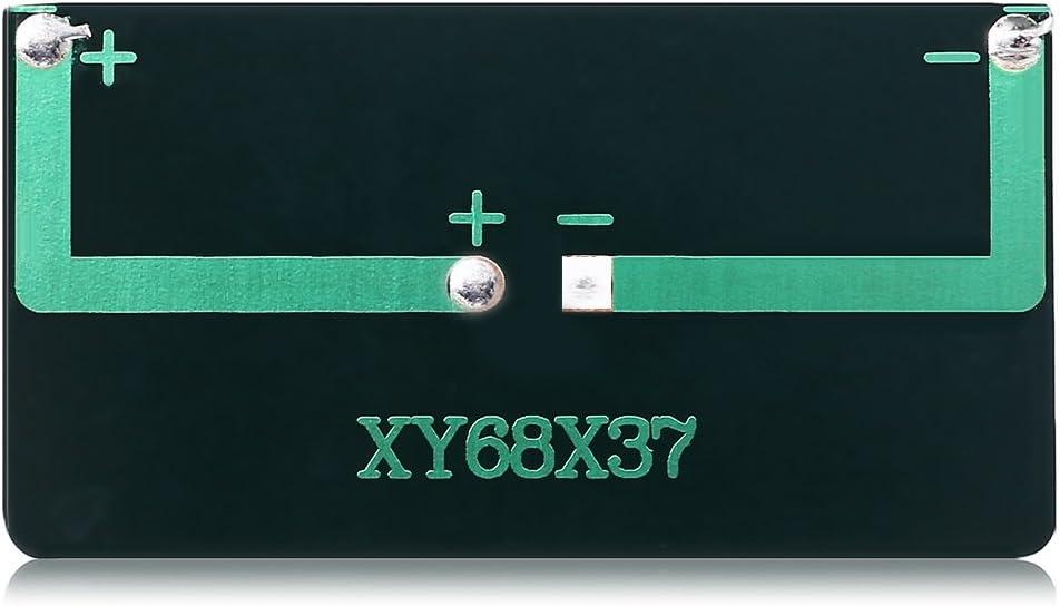 Jasmin FS LDTR-WG0096 B 5V 60mA 68 x 37mm Silizium-Polykristallines Solarpanel SCHWARZ Electronic Accessories