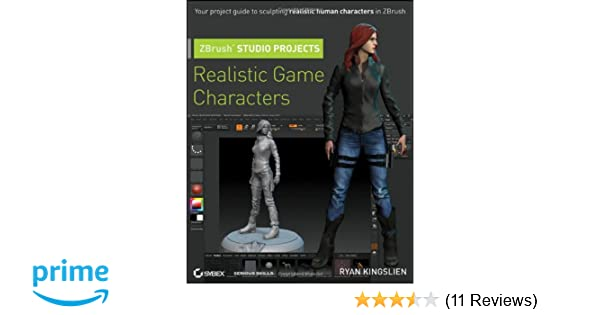Amazon com: ZBrush Studio Projects: Realistic Game
