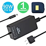Surface Dock Charger,90W 15V 6A Surface Dock Power Supply with USB Port for Microsoft Surface Dock with 6.2ft Power Cord Including a Carrying Pouch by KSW KINGDO