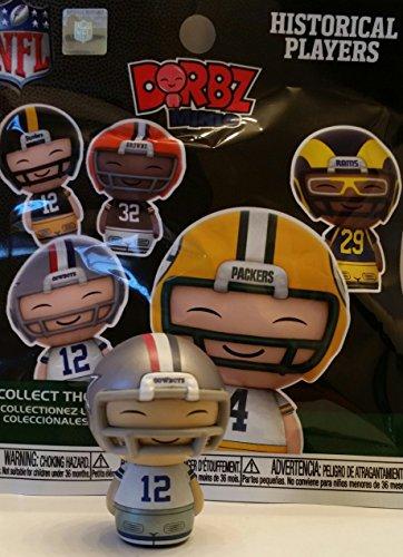 Funko NFL Mini Dorbz Historical Player Series - Dallas Cowboys - Roger Staubach