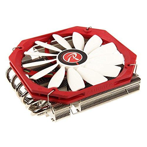 RAIJINTEK Pallas Procesador Enfriador - Ventilador de PC (Procesador, Enfriador, Socket AM2, Socket AM3, Socket AM3, Socket AM3+, Socket FM1, Socket FM2, Socket FM2+, LGA 2011-v3..., Intel® CoreTM i3, Intel Core i5, Intel Core i7, 14 cm, 650 RPM)