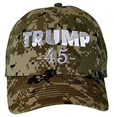 TRUMP 45 Hat SHIPS SAME DAY MAGA Drain The Swamp #DTS Make America Great Again