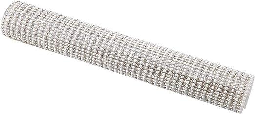 Hotfix Verre Strass Perle Maille Garniture Cristal Strass Feuille Appliqu/é en DIY Bijoux Accessoires pour V/êtements Chaussures Sacs