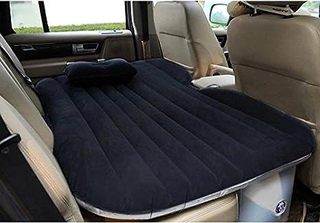Ahom Auto coche cama inflable colchón de aire coche reuniéndose/Oxford viaje cama inflable colchón aire cama sofá inflable , black no block: Amazon.es: ...
