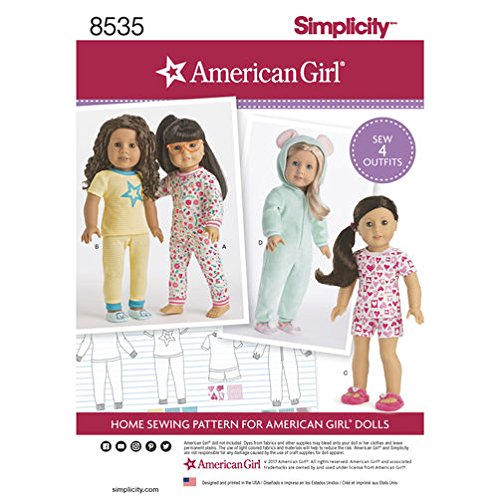 Simplicity Creative Patterns US8535OS Crafts Sewing Pattern, One Size