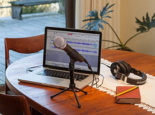 Samson Q2U Dynamic USB Handheld Microphone For Recording and Podcast Podcasting