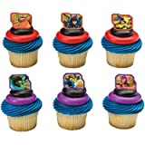 Disney Big Hero 6 Super Heroes Cupcake Rings - 24 pcs by DecoPac