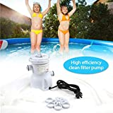 ACOOLOO 300 GPH Pool Filter Pump for Above Ground