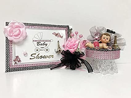 Amazon Paris Baby Shower Its A Girl Theme Mom To Be Guest Book