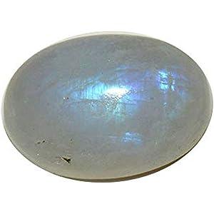3,75 quilates Piedra lunar de 55 quilates ovalada natural