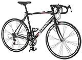 Schwinn Mens Phocus 1400 700C Drop Bar Road Bicycle, Black, 18-Inch