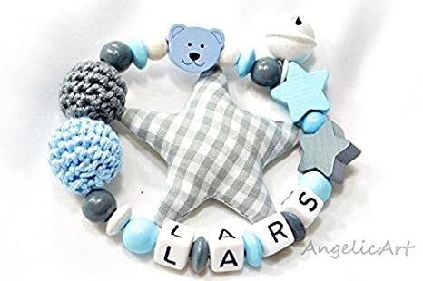 Peluche oso, nombre personalizado, motorig juguete, regalo ...