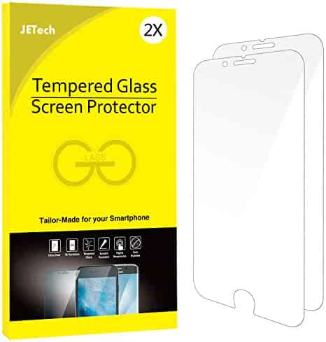 JETech 2-Pack iPhone 6/6s Plus Screen Protector Tempered Glass Film for Apple iPhone 6 Plus and iPhone 6s Plus 5.5-Inch