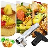iMeshbean Hot Sale Fruit Pineapple Corer Slicers Pineapple Peeler Easy Slicer/Peeling Knife Cutter Kitchen Easy Tools