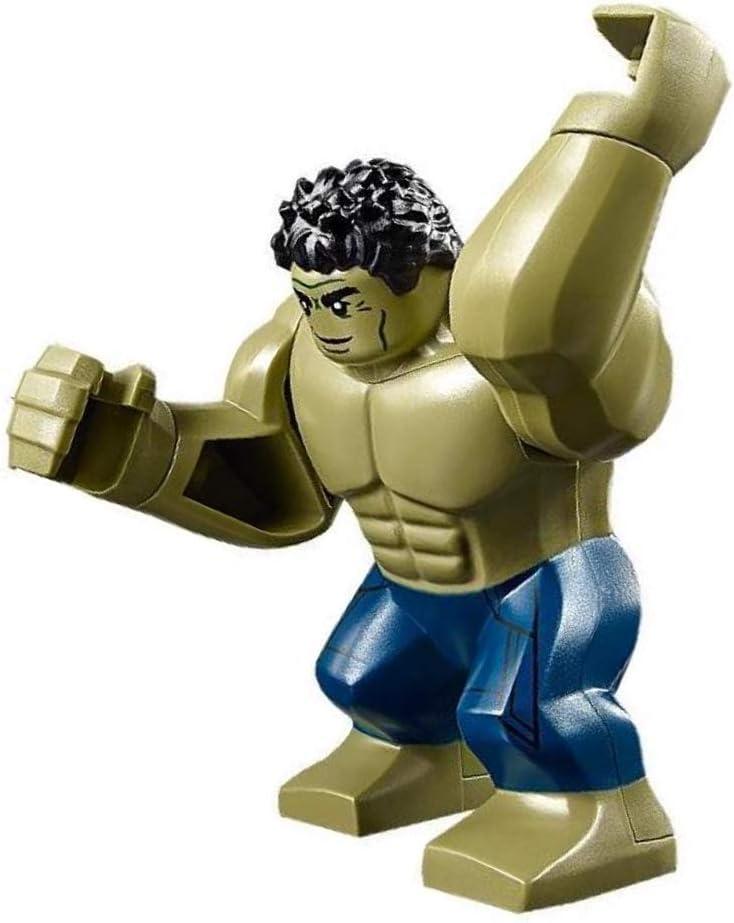 Amazon.com: LEGO Hulk Super Heroes - Minifigura de juego ...