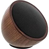 InLine WOODWOOM Mini Bluetooth Lautsprecher (52 mm) walnuss-holz