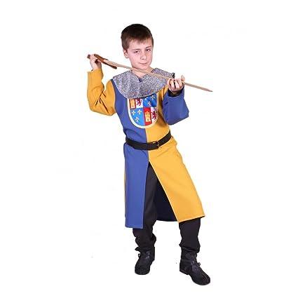 Traje medieval niño Bipart: Amazon.es: Juguetes y juegos