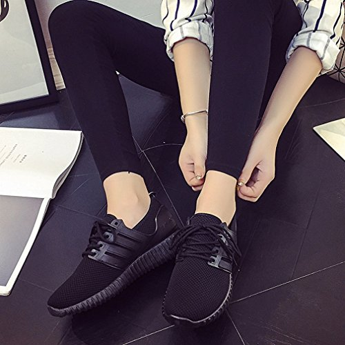 Autumn Flat Mesh Shoes Shoes Red American Black Sports Casual Breathable and Shoes and Spring Lace European Shoes ANI vqw41OY1